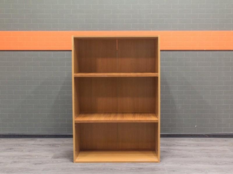 Офисная мебель бу. Стеллаж офисный низкий, ольха
