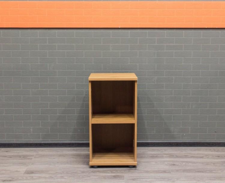 Стеллаж низкий ольха, офисная мебель бу
