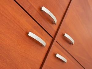 Шкаф для документов 770х370х2000, цвет орех