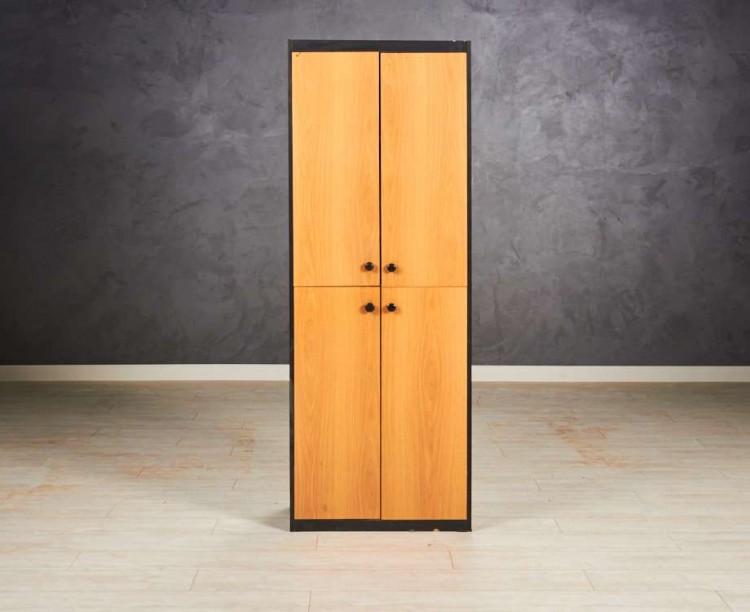Шкаф для документов, цвет черный/ольха