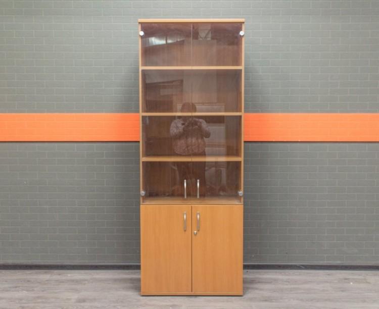 Шкаф со стеклом, для документов офисный