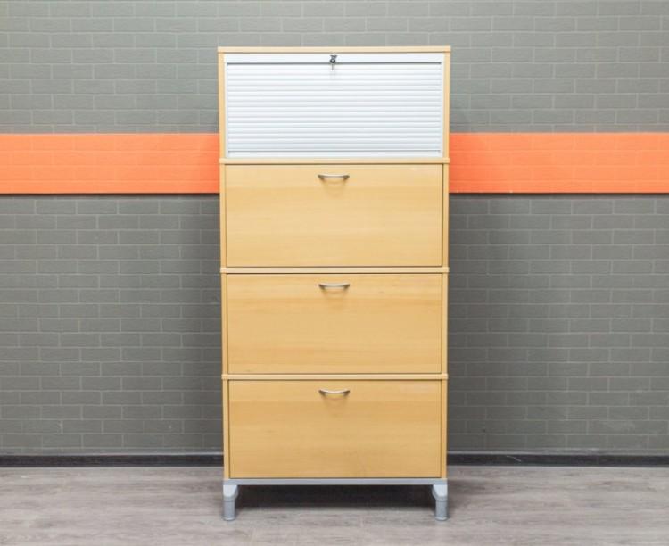 Шкаф для документов, картотека на 4 секции