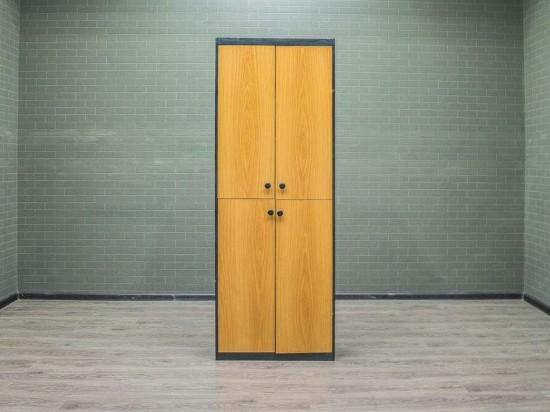Шкаф для документов орех/чёрный