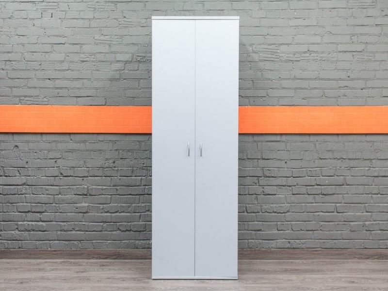 Шкаф офисный для документов, серый
