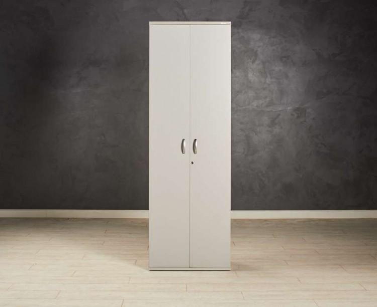 Шкаф гардероб серый