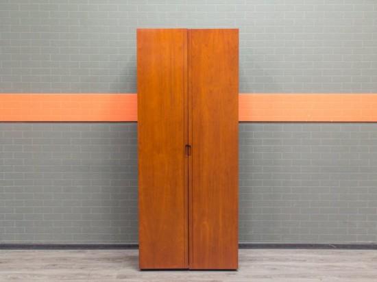 Гардероб, шкаф для одежды Италия, шпон красного ореха