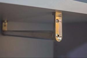 Шкаф для одежды узкий ЛДСП
