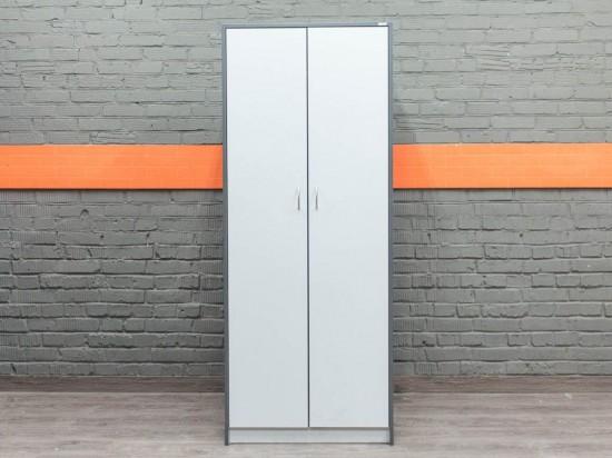 Гардероб, шкаф для одежды, серый