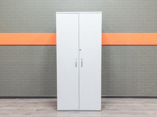 Шкаф для одежды, гардероб серый