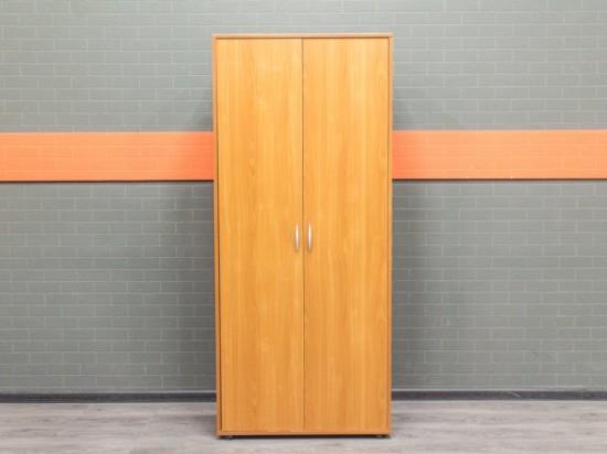 Гардероб, шкаф для одежды вишня, с царапинами