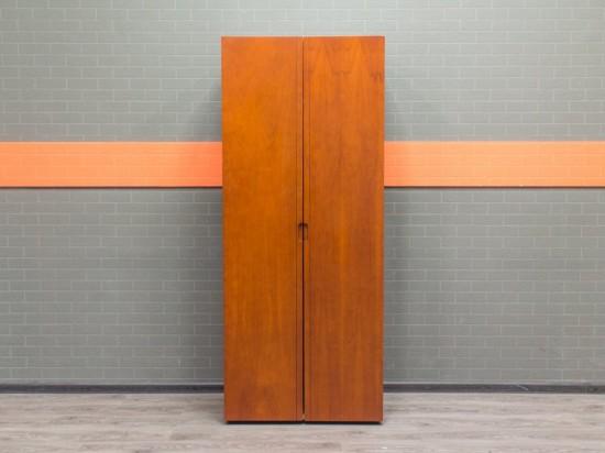 Гардероб, шкаф для одежды красный орех, МДФ шпон