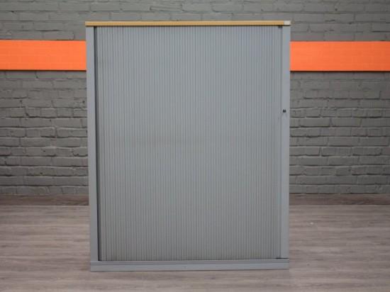 Шкаф низкий со сдвигающейся дверцей