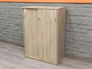 Шкаф для документов низкий, ясень.