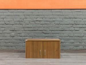 Офисная мебель бу. Антресоли для шкафа, орех