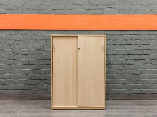 Низкий офисный шкаф, бук