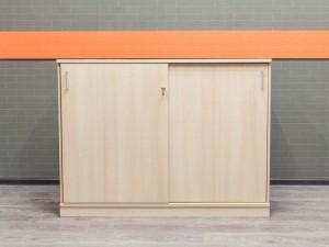 Шкаф для документов низкий Narbutas, дуб