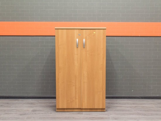 Шкаф низкий для документов Офисная мебель бу ольха