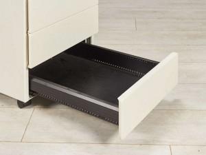 Тумба металлическая Steelcase, цвет белый