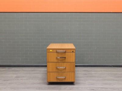 Офисная мебель бу. Тумба подкатная, вишня