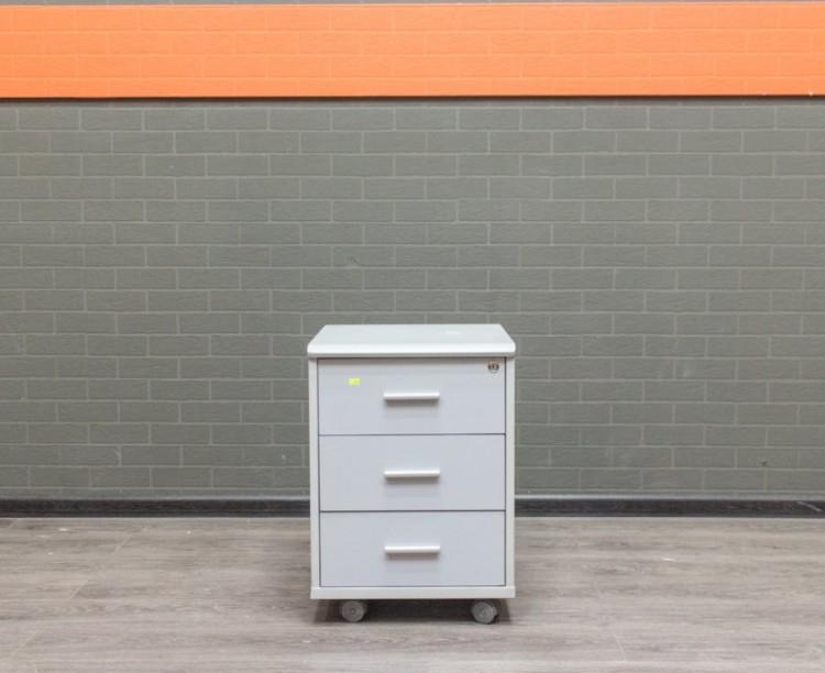 Офисная мебель бу Тумба Феликс серая