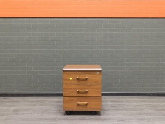 Офисная мебель бу. Тумба подкатная Феликс, орех