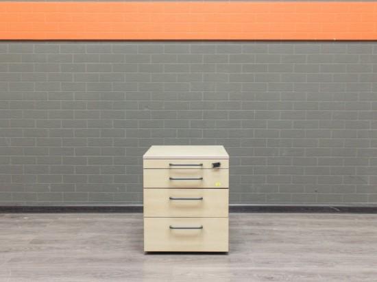 Тумба Steelcase на колесах, офисная мебель бу, клен