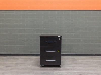 Офисная мебель бу, тумба подкатная венге