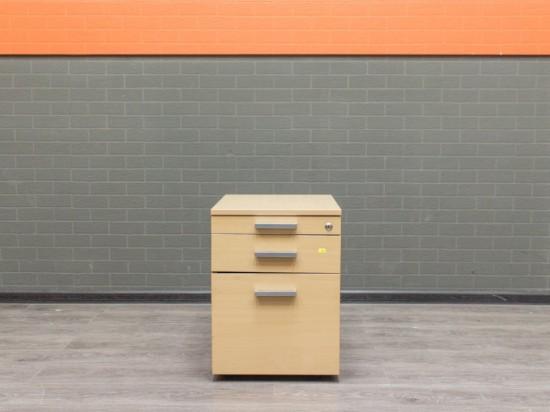 Офисная мебель бу, тумба подкатная, бук