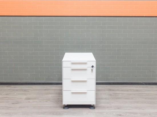 Тумба металл белая Vitra, офисная мебель бу