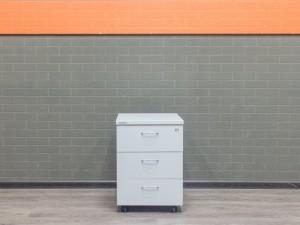 Тумба офисная подкатная серая, СП-мебель