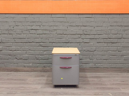 Офисная мебель бу. Тумба металлическая для документов, Steelcase