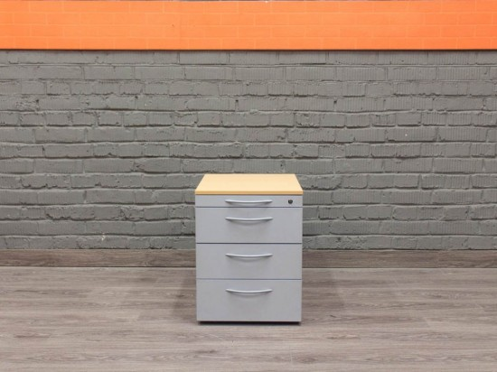 Мобильная тумба в офис Офисная мебель бу серая