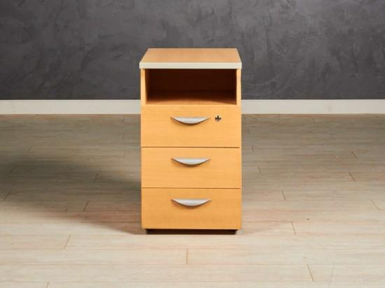 Тумба приставная СП-мебель, цвет бук