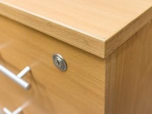 Тумба приставная в офис, бук. Офисная мебель бу