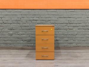 Офисная мебель бу. Тумба офисная приставная, вишня
