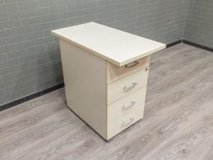 Тумба приставная, офисная мебель бу, клен