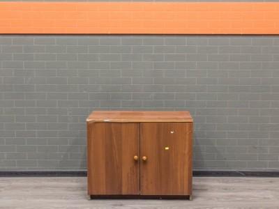 Офисная мебель бу Тумба под оргтехнику, орех
