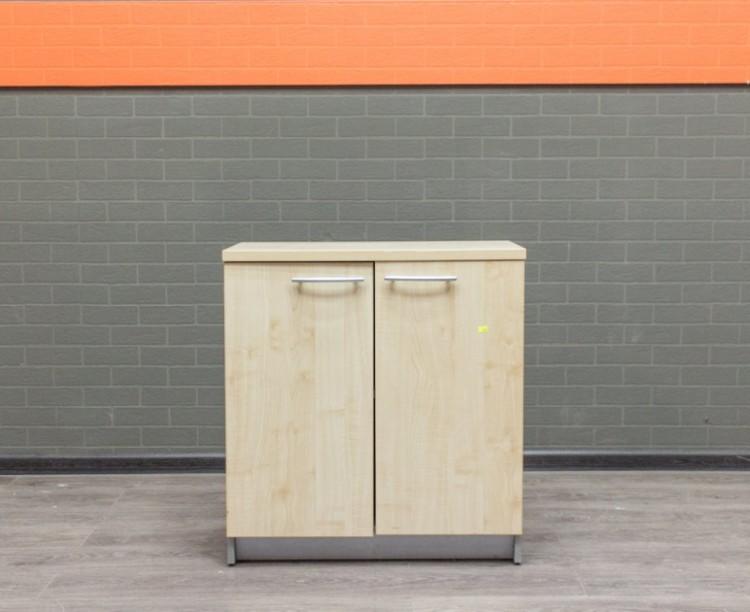 Тумба для документов клен и серый, офисная мебель бу