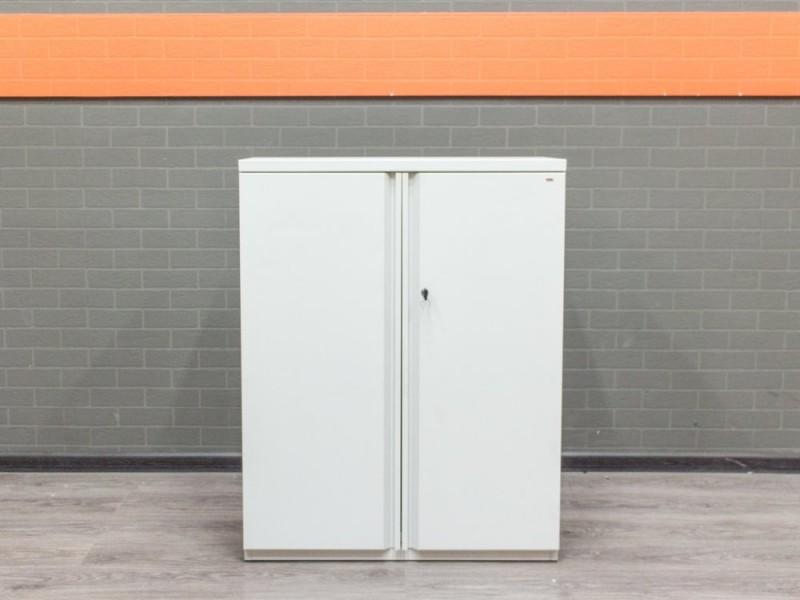 Шкаф металлический низкий Walter Knoll, белый