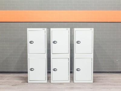 Шкаф металлический модульный для личных вещей