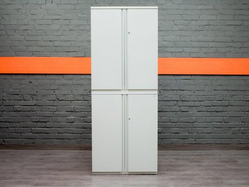Шкаф металлический Knoll 2- секции, офисная мебель бу
