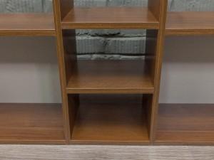 Полки для учебников и книг, под документы, орех