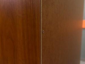 Стеллаж офисный, шкаф новый Classic, яблоня