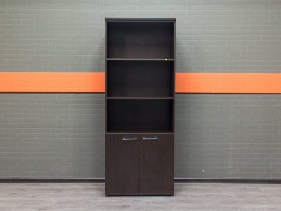 Стеллаж новый, шкаф офисный Business, венге