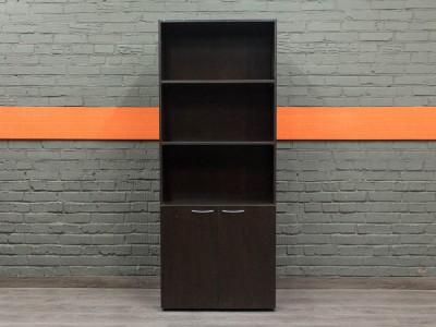 Стеллаж офисный, шкаф новый Classic, венге