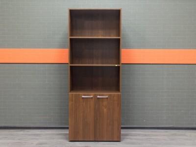 Стеллаж новый, шкаф офисный Style, орех