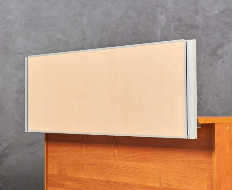 Экран для стола Феликс, цвет клен