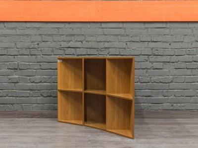Полки навесные для книг, угловые