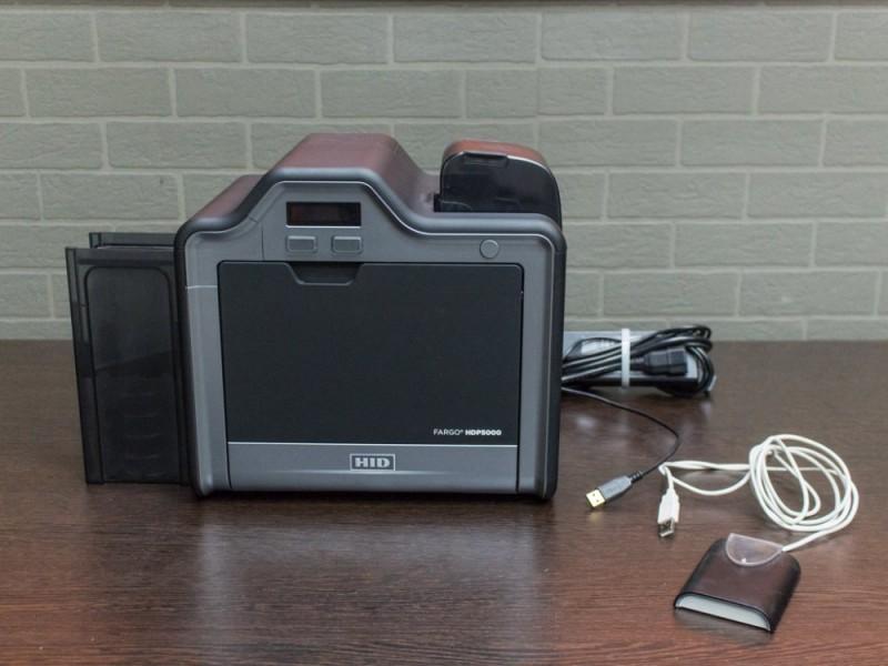 Принтер пластиковых карт Fargo HDP5000