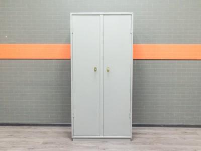 Металлический шкаф КБ 10 для документов, серый